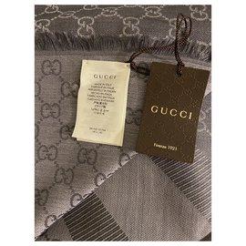 Gucci-Scarves-Beige