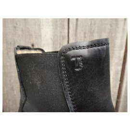 Tod's-Tod's p boots 42,5-Black