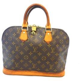 Louis Vuitton-ALMA PM MONOGRAM-Brown