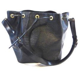 Louis Vuitton-NOE PM BLACK PPE LEATHER-Black