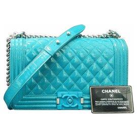 Chanel-Handbags-Turquoise