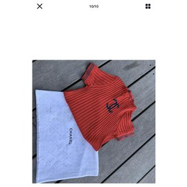 Chanel-Tops-Red