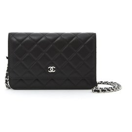 Chanel-WALLET ON CHAIN BLACK NEW-Black