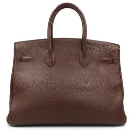 Hermès-Hermes 1999 Birkin 35 Havane leather-Brown