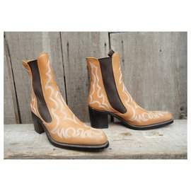 Free Lance-Free Lance p boots 39 New condition-Beige