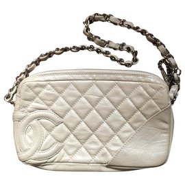 Chanel-Chanel cambo clutch-Beige