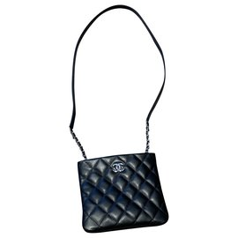 Chanel-UNIFORM-Black,Silver hardware