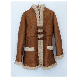 Alexander Mcqueen-Coats, Outerwear-Brown