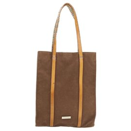 Burberry-Burberry tote bag-Brown