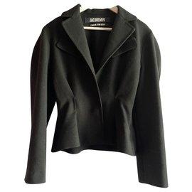 Jacquemus-The little jacket-Black
