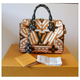 Louis Vuitton-Speedy Crafty-Caramel