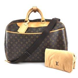 Louis Vuitton-Toile Monogram Louis Vuitton Alize-Marron