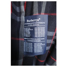 Burberry-Burberry women's vintage t trench coat 40, Oversized-Grey