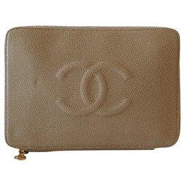 Chanel-Clutch bags-Beige