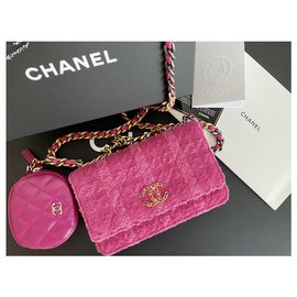 Chanel-Woc with detachable purse-Pink