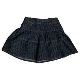 Dior-Skirts-Blue