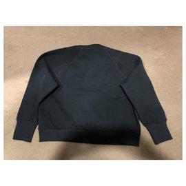 Burberry-Sweatshirt-Navy blue
