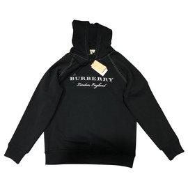 Burberry-Hoodie-Black