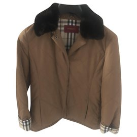 Burberry-Jackets-Brown