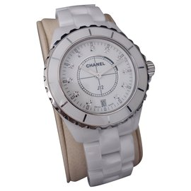 Chanel-Chanel J watch12 38MM-White