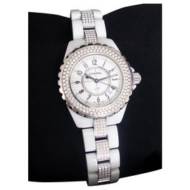 Chanel-Chanel J watch12 33MM-White