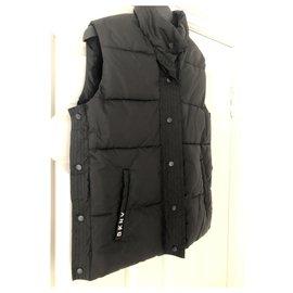 Dkny-Girl Coats outerwear-Black