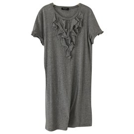 Dsquared2-Dresses-Grey