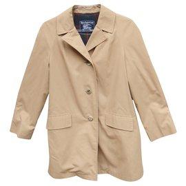 Burberry-vintage Burberry t jacket 38-Beige