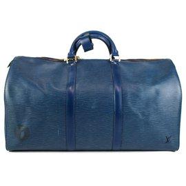 Louis Vuitton-Louis Vuitton 2005 KEEPALL 60-Bleu