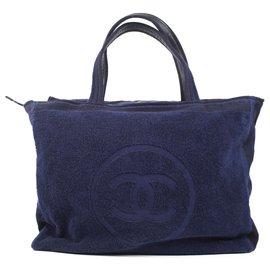 Chanel-Chanel 2010's beach bag-Blue