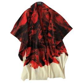 Issey Miyake-Kimono coat Homme Plissé - Issey Miyake-Multiple colors
