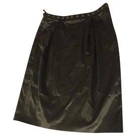 Burberry-Mini skirt-Black