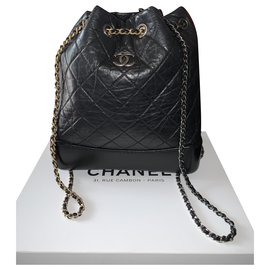 Chanel-Gabrielle backpack-Black