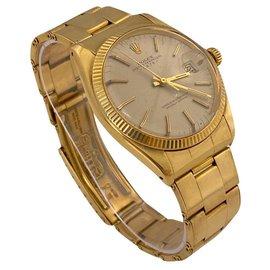 Rolex-Rolex Gold Oyster Perpetual Date-Golden