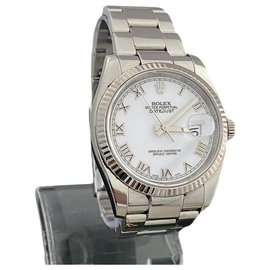 Rolex-Rolex - Oyster Perpetual Datejust - 116234-Silvery