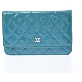 Chanel-Chanel Wallet On Chain-Blue