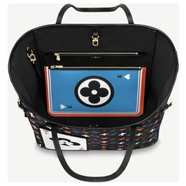 Louis Vuitton-LV Neverfull Game ON-Multicor