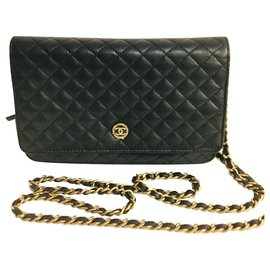 Chanel-WOC - wallet on chain-Black