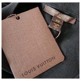Louis Vuitton-Ltd Ed Robe à monogramme à pois-Noir