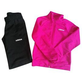 Adidas-LOGO-Black,Pink