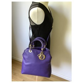 Dior-Handbags-Purple
