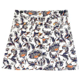 Louis Vuitton-PF17 Printed Cotton Mini Skirt-Multiple colors