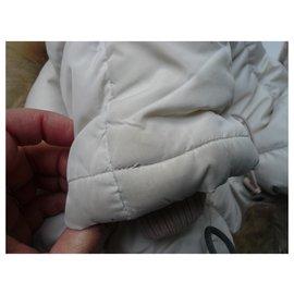 Bonpoint-BONPOINT Doudoune manteau longue Rose pale 3 ANS-Rose