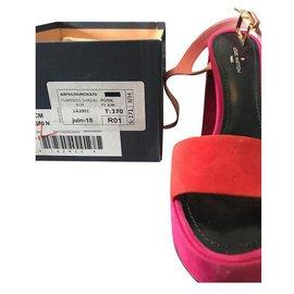 Louis Vuitton-Sandals-Pink,Orange