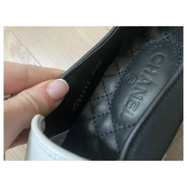 Chanel-Sneakers-Black,White