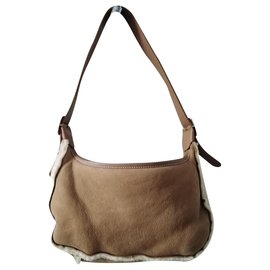 Longchamp-Handbags-Caramel