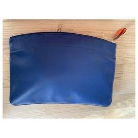 Hermès-Clutch bags-Blue,Orange