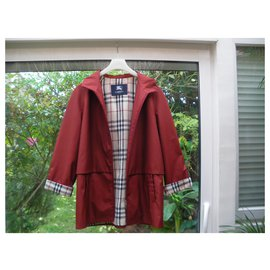 Burberry-Trench coats-Dark red
