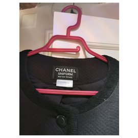 Chanel-uniform-Navy blue