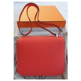 Hermès-Constance 24-Red
